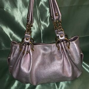 Juicy Couture Metallic Handbag